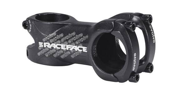 Race Face Evolve MTB- & maantie- ohjainkannatin Ø31,8mm 6° , musta